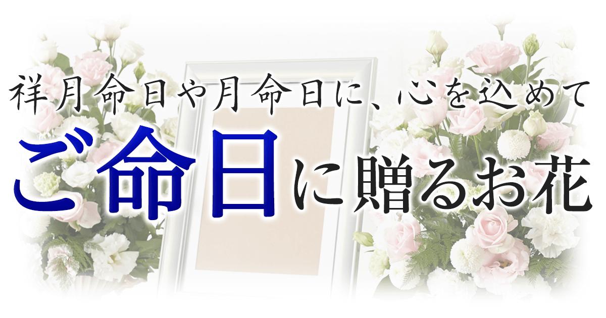 命日・月命日に心を込めて贈る花【イーフローラ】送料無料も多数