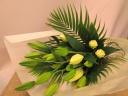 【お供え、お悔やみ】ユリの花束