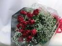 赤バラ花束・スタンダード