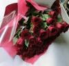 赤バラ花束・スマートタイプ