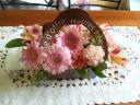 母の日おすすめアレンジ「ポップ・ピンク」