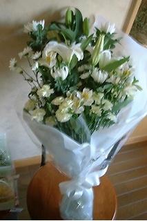 御供花束 ホワイト