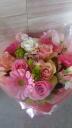 ピンクのキュートな花束