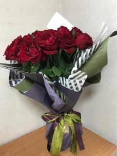 バラ 70本の花束