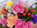 ◆個性派カラフル花束◆