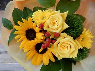 ◆夏ぅぅぅ♪ ひまわりの花束◆