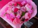 春の花束ピンク
