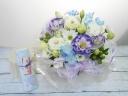 【~花の旅・桜~ * お線香とご供花のセット *】