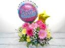☆メッセージバルーンとキラキラ星の贈り花☆4