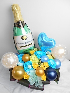◇豪華シャンパンバブル*GOLD*ポコポコアレンジ◇