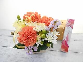 【*お線香ご供花セット*?じんちょうげの香り?】