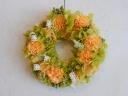 プリザリース ナチュラルオレンジ×グリーン
