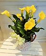 プレミアムカラー鉢 花色イエロー