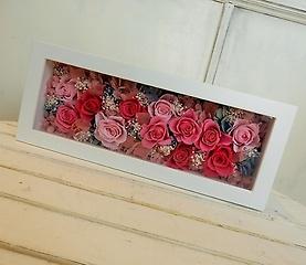 プリザーブドフラワー~pink box~