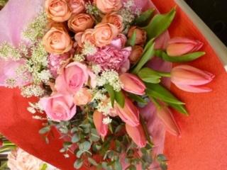 チューリップの花束♪B