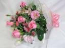 かわいいピンクの花束