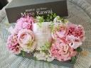母の日GIFT キャンドル入BOX(pink)