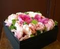 香るバラのBOXフラワー