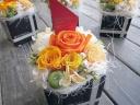 お花屋さんの手作りプリザ 2