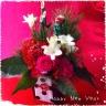 紅×白 シンプルお年賀おまかせアレンジ