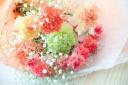母の日定番花束 イエローオレンジ系
