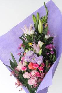 菊と洋花のお供え花束 大