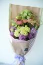 おまかせトルコキキョウの花束