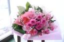 ピンク カスミソウ 花束