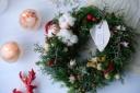 森の香りのクリスマスリース