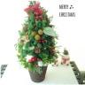 ほんものグリーンのクリスマスツリー