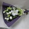 お供え花束・ホワイト