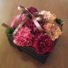 母の日の贈り物『カーネーションのボックスアレンジ』