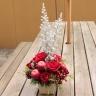 クリスマスを彩るお花【フラワーツリー】