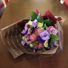 大人っぽい花束【若紫】