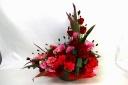 真っ赤なバラのアレンジメント