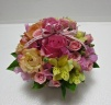 花里・春の優しいお花でアレンジメント
