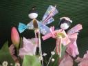 可愛い春のお花で・・ひなまつり