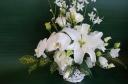 白いお花を集めて・・