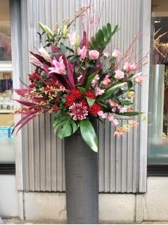 アジアン風スタンド花