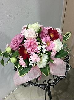 ピンクで可愛らしく!発表会におススメ!