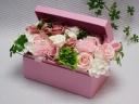 シャボンフラワー*BOXアレンジメント*ピンク