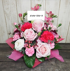 ピンク系アレンジメント