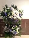 ご葬儀 生花スタンド 2段