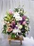 和篭の供花