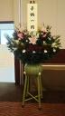 葬儀用生花(ダルマ篭)