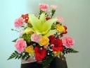 ☆お花の贈り物☆「鮮やか&華やかアレンジ!」