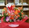 花とハーブティー オレンジ系