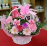 花とアロマ石けん ピンク系