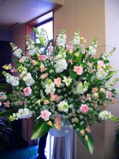 【葬儀用スタンド花】