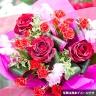 おまかせ花束Sサイズ(赤色)